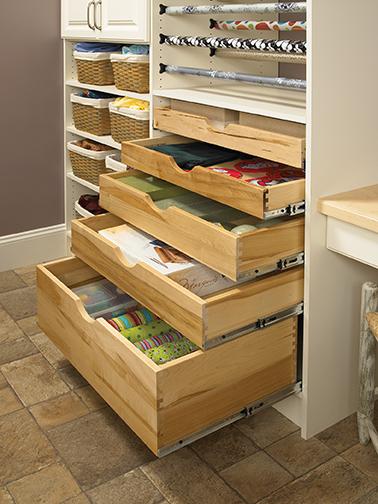 Scoop Sliding Shelf