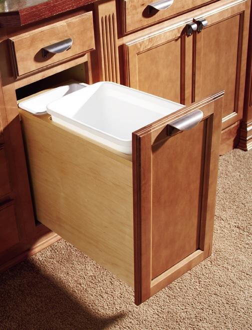 Beau Wastebasket Cabinet