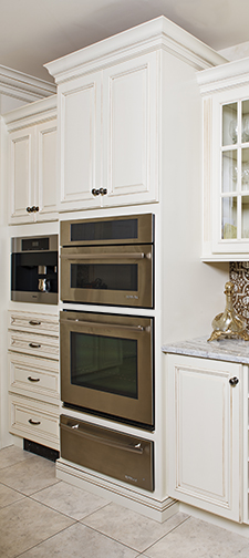 Triple Oven Cabinet