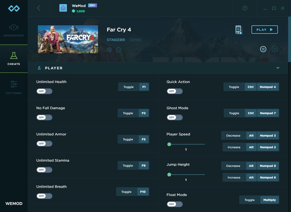 Far cry 4: трейнер/trainer (+10) [1. 0_64 bit] {baracuda} читы.