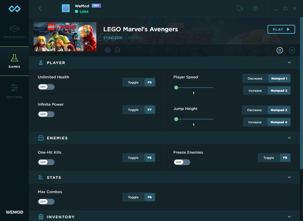 LEGO Marvel's Avengers Trainer and Cheats for PC | WeMod
