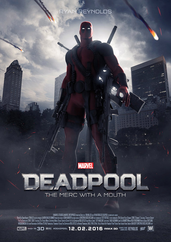 Movie Posters 2016 Deadpool 2016 Movie Poster