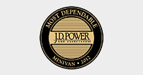 J.D. Power and Associates - Most Dependable Minivan, Two Years in a Row