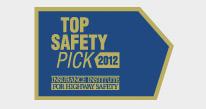 Top Safety Pick 2012 Insurance Institute of Highway Safety