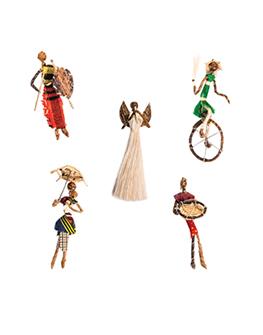 Sisal ornaments