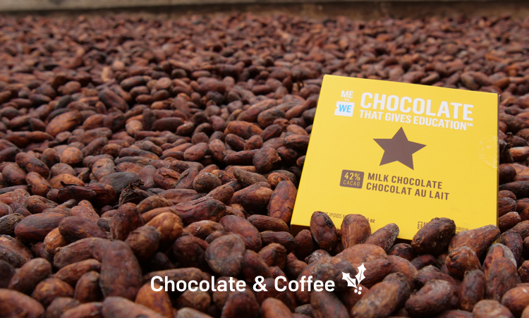 New! Coffee and Chocolate that changes lives