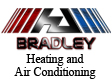 Website for Bradley Heating & Air Conditioning Inc.