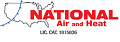 Website for National Air and Heat LLC