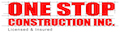 Website for One Stop Construction, Inc.