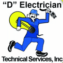 Website for D Electrician Technical Services, Inc.