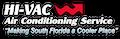 Website for HI-VAC Air Conditioning Service Ent., Inc.