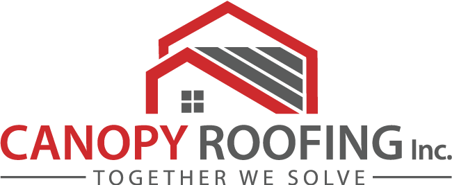 Website for Canopy Roofing, Inc.