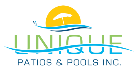 Website for Unique Patios & Pools, Inc.