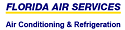 Website for Florida Air Services
