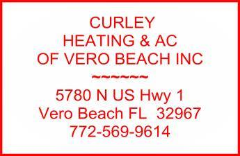 Website for Curley Heating and Air Conditioning of Vero Beach, Inc.