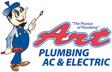 Website for Art Plumbing AC & Electric
