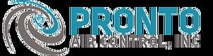 Website for Pronto Air Control, Inc.
