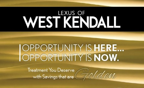 Website for Lexus of West Kendall