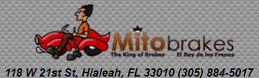 Website for Mito Brakes