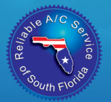 Website for Reliable Air Conditioning Services of South Florida Inc.