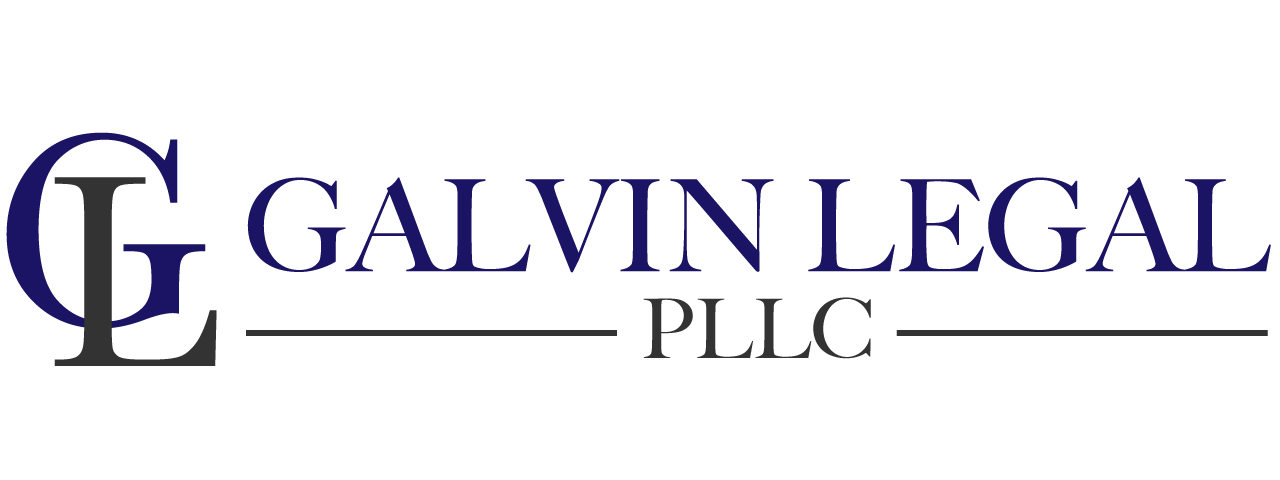 Website for Galvin Legal, PLLC