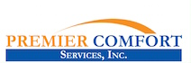 Website for Premier Comfort Services, Inc.