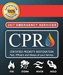 Website for Certified Priority Restoration, LLC
