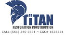 Website for Titan Restoration Construction