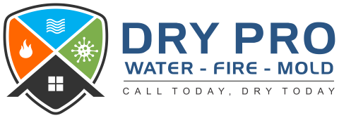 Website for Dry Pro Water Fire Mold, Inc.