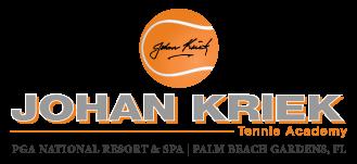 Website for Johan Kriek Tennis, LLC