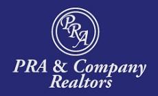 Website for PRA & Company Realtors
