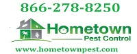 Website for Hometown Pest Control, Inc.