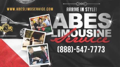 Website for Abe's Limousine Service, LLC