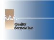 Website for AAA Quality Services Inc.