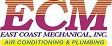Website for East Coast Mechanical, Inc.