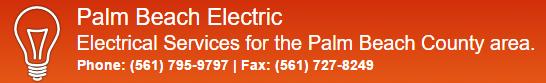 Website for Palm Beach Electric, Inc.