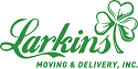 Website for Larkins Moving & Delivery, Inc.