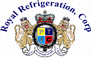 Website for Royal Refrigeration and Air Conditioning Corp.