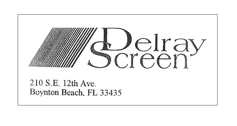 Website for Delray Screen