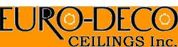Website for Euro-Deco Ceilings, Inc.