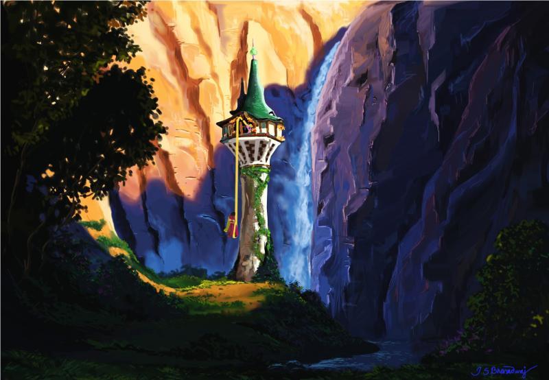 Rapunzel S Hidden Tower Wetcanvas Online Living For Artists