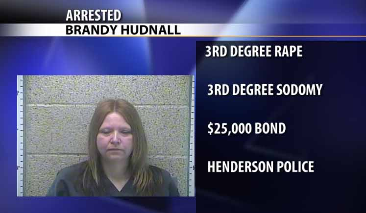 Photo of Henderson Woman Charged With Rape
