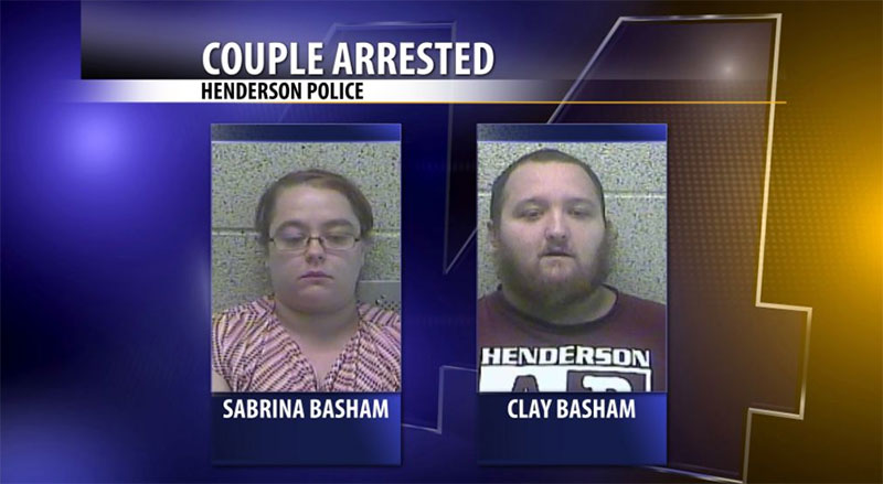 Photo of Henderson Couple Charged After Babysitter Called 911