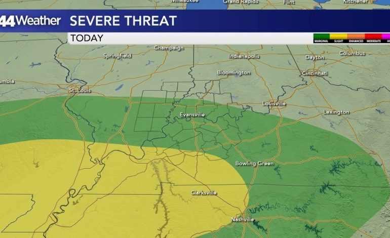Severe Weather Threat Wednesday and Thursday