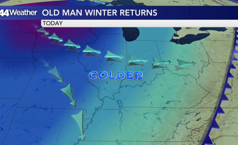 Old Man Winter Returns, More Bitter Wind Chills Ahead
