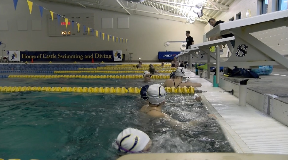 Photo of Castle, Memorial Swimmers Trek to State Finals