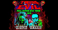 """Rob Zombie/Marilyn Manson """"Notorious Twins of Evil"""" Tour Tickets on Sale Today!"""