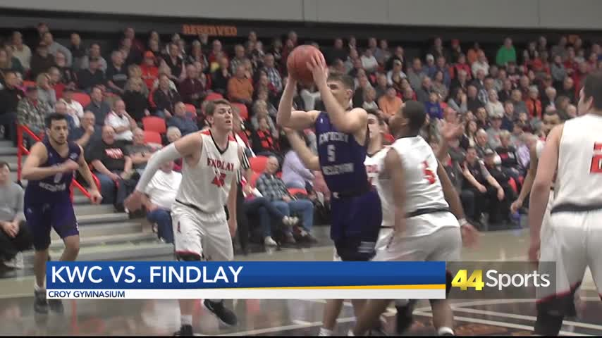 Photo of KWC Men Fall to Findlay