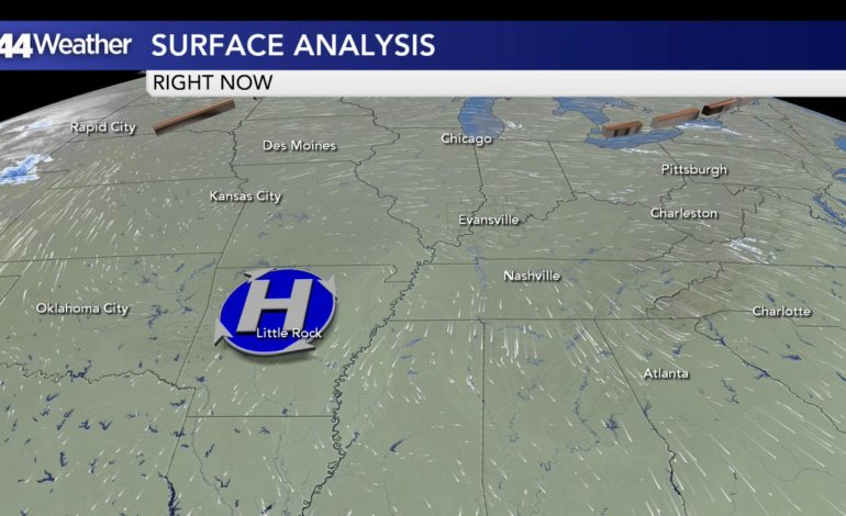 Arctic Air Retreats, Trending Warmer and Unsettled