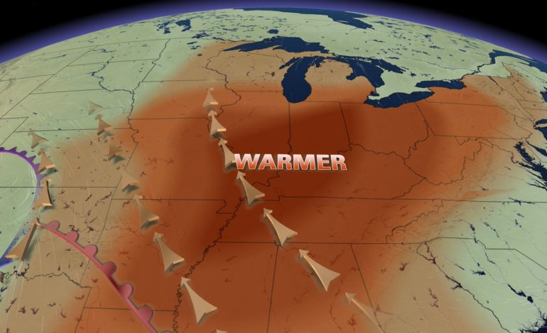 Spring-Like Warmth, High Winds & Severe Storm Threat